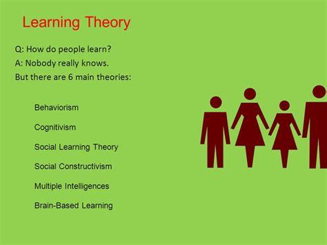 Behaviorism Cognitivism, Construktivism, Connectivism  Ppt Download
