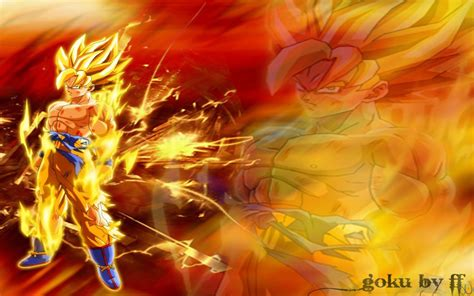 Dragon Ball Z Goku Wallpapers  Wallpaper Cave