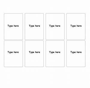 30 Simple Index    Flash Card Templates  Free