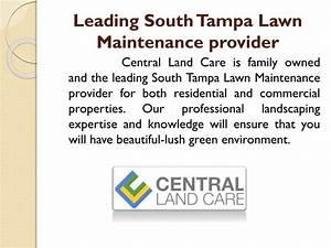 PPT - unmatched professionalism in South Tampa Lawn Care ...