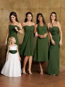olive green bridesmaid dresses green bridesmaid dresses