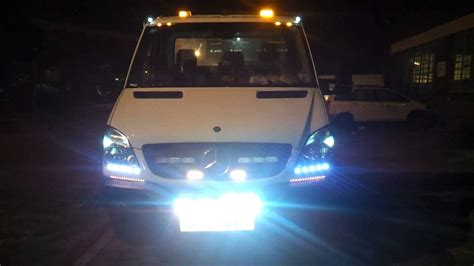 mercedes sprinter recovery truck with emergency