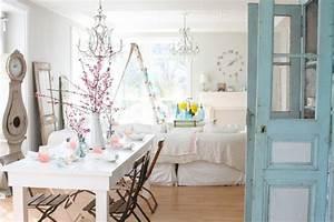 Home Creation Geschirr : estilo shabby chic 50 interiores que lograr n inspirarte ~ Buech-reservation.com Haus und Dekorationen