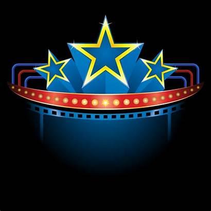 Clipart Theater Theatre Marquee Clip Sign Billboard