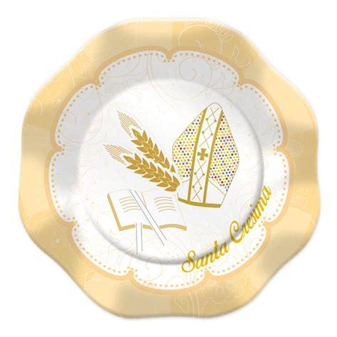 clipart cresima piatti santa cresima