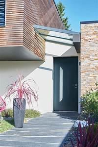 Porte Entrée Aluminium Rénovation : l aluminium pour votre porte d entr e contemporaine ou ~ Edinachiropracticcenter.com Idées de Décoration
