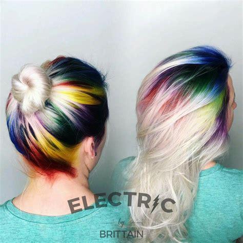 Rainbow Hair Over The Rainbow Hair Styles Rainbow