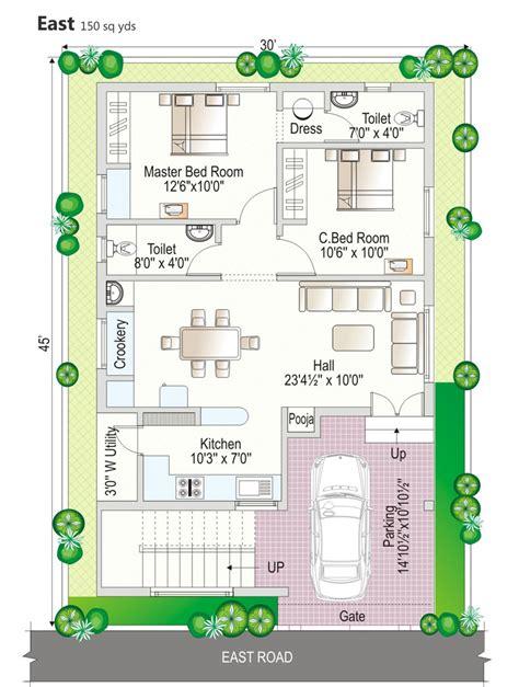 120 square yards duplex house plans home deco plans