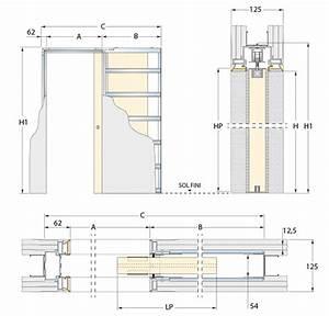 Plan Porte Coulissante : plan architecture porte coulissante ~ Melissatoandfro.com Idées de Décoration