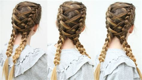 criss cross dutch braids braided pigtails