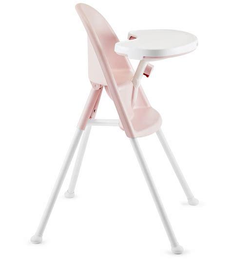 babybjrn high chair light pink