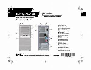 Dell Optiplex 980  Early 2010  Owner U0026 39 S Manual