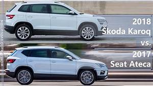 Karoq Vs Ateca : 2018 skoda karoq vs 2017 seat ateca technical comparison youtube ~ Medecine-chirurgie-esthetiques.com Avis de Voitures