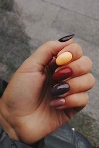 festive fall nails