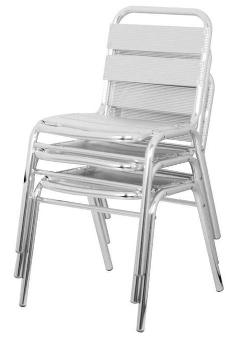 chaise de terrasse chaise de terrasse aluminium cra 42 one mobilier