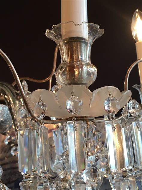 lustre en cristal de baccarat paul bert serpette