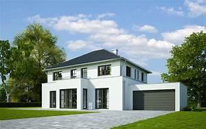 Garagenanbau Mit Terrasse : massives musterhaus von ehrenreich in teublitz zu ~ Lizthompson.info Haus und Dekorationen