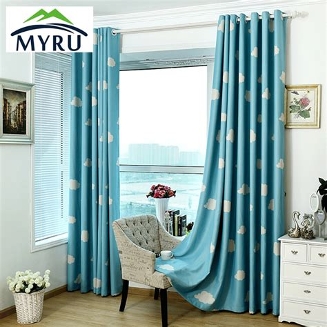 Quality Curtains And Drapes - myru high quality baby curtains childrens cheap blackout