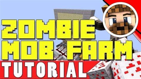 minecraft mob zombie farm