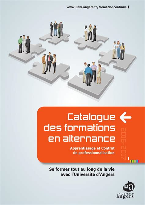 formation cuisine en alternance catalogue des formations en alternance 2015 2016 by université angers issuu