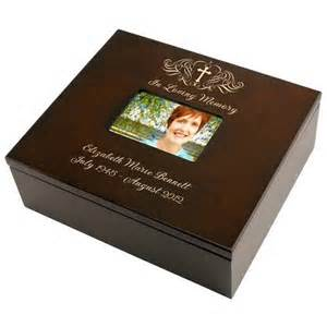 engraved wedding albums holy cross memorial keepsake box
