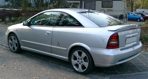 Opel Astra G by File Opel Astra G Coupe Rear 20071011 Jpg Wikimedia Commons