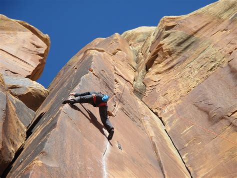 Rock Climbing With Rob Pizem Some Indian Creek