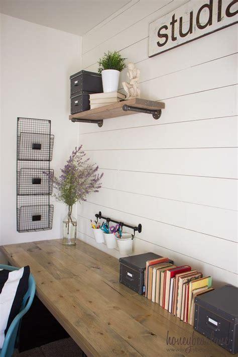 diy industrial farmhouse desk home office decor home