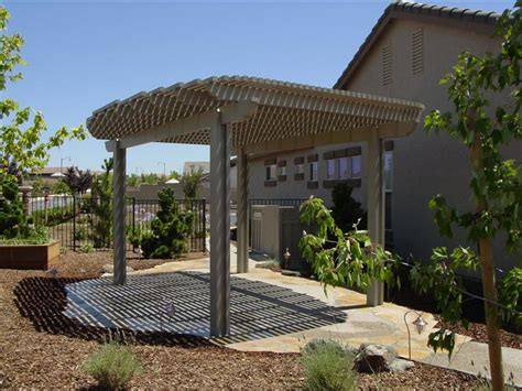 free standing pergolas roseville cadon s awnings patio