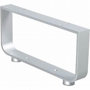 Pied Meuble Design : pied gris x cm leroy merlin ~ Teatrodelosmanantiales.com Idées de Décoration
