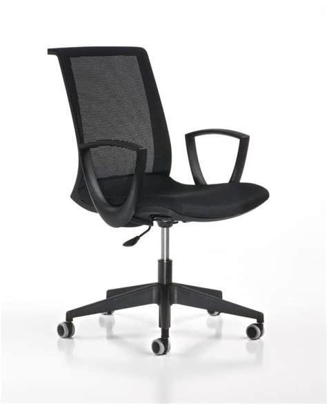 adjustable task chair with wheels modern office idfdesign