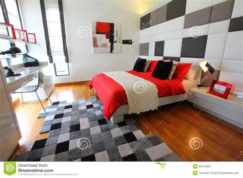 how to set up bedroom clean modern bedroom royalty free stock photography image 35144027