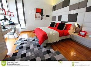 Clean Modern Bedroom Royalty Free Stock Photography ...