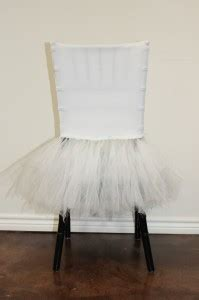 white tutu chair caps house of houghhouse of hough