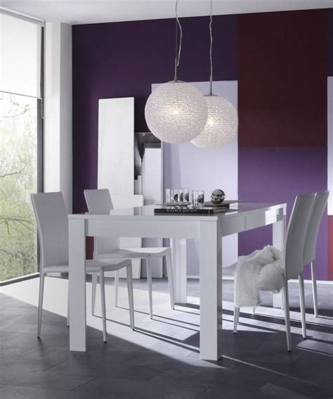 table carree blanc laque avec rallonge remc homes