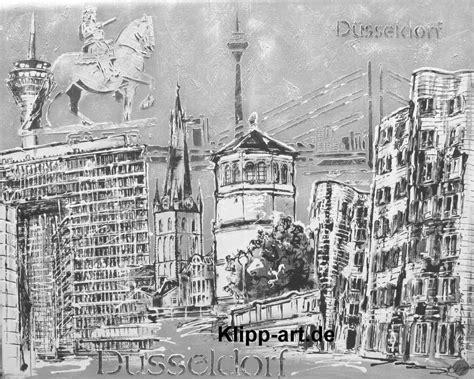 duesseldorf collage schwarz weiss black white kunst