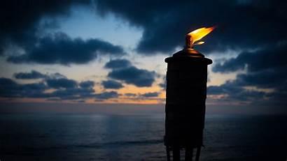 Torch Fire Night 4k Wick Cheare Abraham