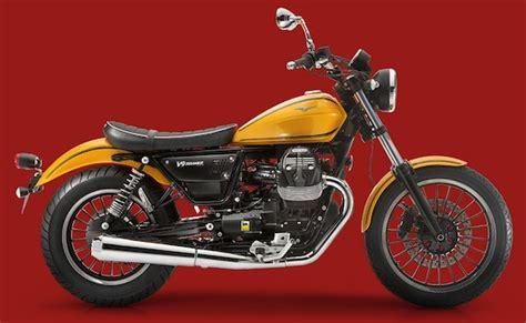 Moto Guzzi V9 Roamer Modification by Moto Guzzi V9 Roamer And Bobber Coming Motorbike Writer