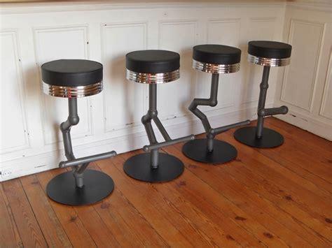 chaise de bar tabouret industriel de bar style and steel jpg chaises