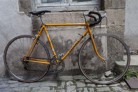 Peugeot Course by V 233 Lo Peugeot Semi Course Orange Vintage 70 S Belleroue
