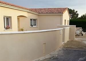enduire un mur exterieur pas cher With enduit ciment blanc exterieur