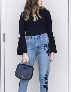 EMBROIDERED JEANS | Elements of Ellis