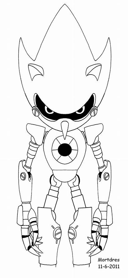 Sonic Metal Stand Coloring Pages Deviantart Favourites