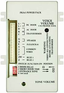 Alpha Communications U2122 Pk543 5  4  3 Wire Apt Amplif  2 Tones