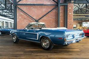 1968 Ford Mustang 390 Manual - Richmonds - Classic and Prestige Cars - Storage and Sales ...