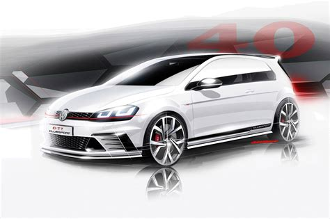 volkswagen gti sports car vw golf gti club sport 2015 a faster kind of gti