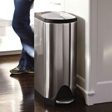 poubelle de cuisine à pédale poubelle de cuisine à pédale 30 litres inox brossé