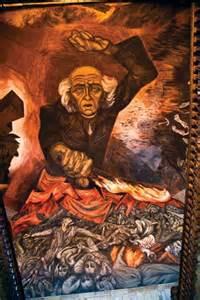 orozco jos 233 clemente miguel hidalgo y costilla mural