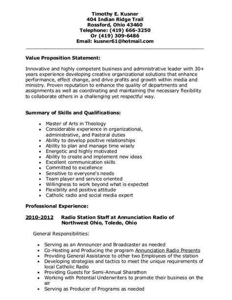 Three Page Resume by My Resume 3 Page Version