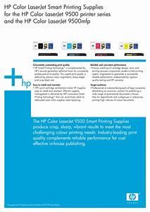 Download Free Pdf For Hp Laserjet Color Laserjet 9500hdn Printer Manual